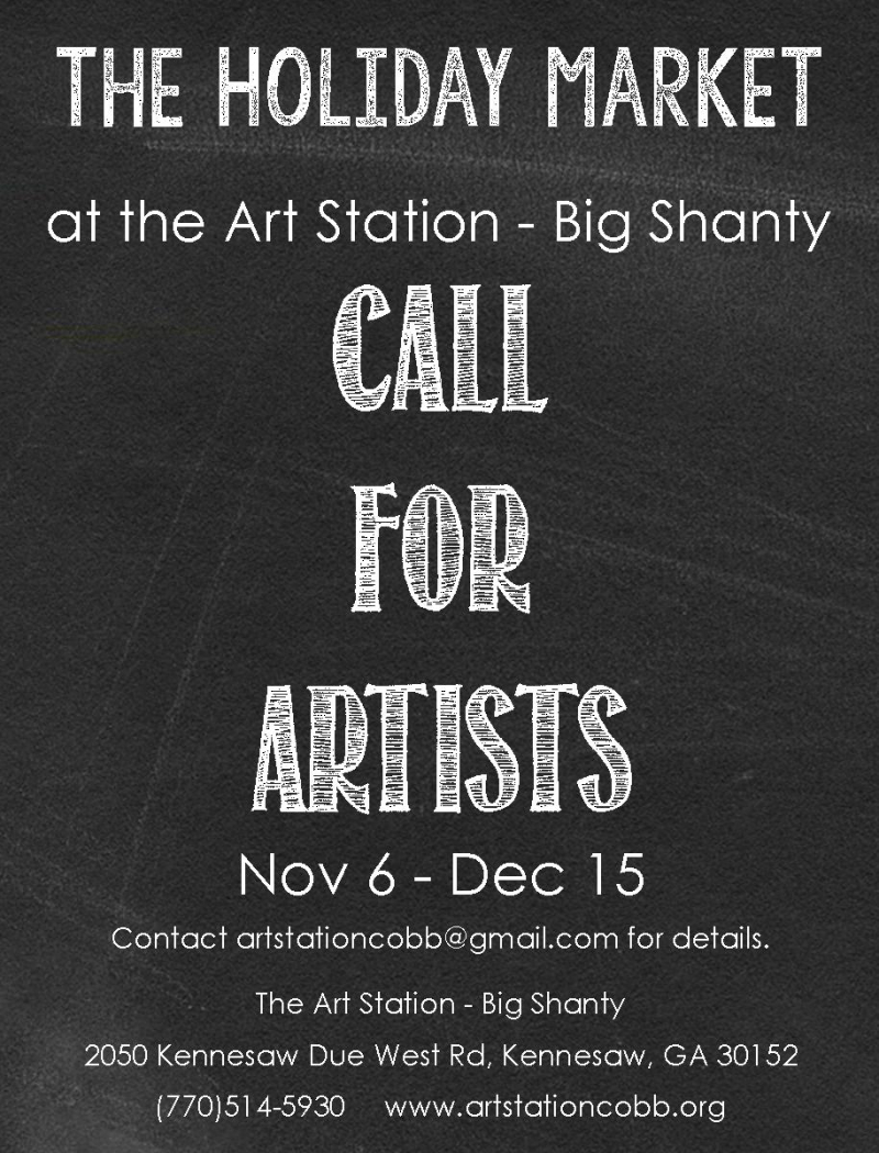 HOLIDAY MARKET 2018 call for artists