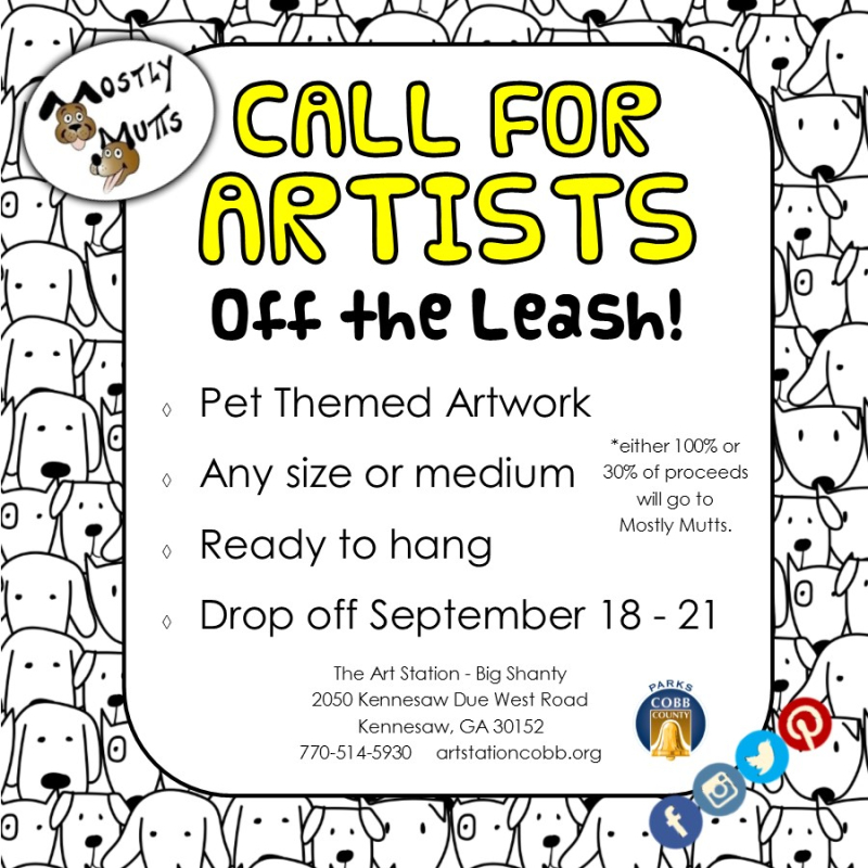Off the Leash Call for Artists